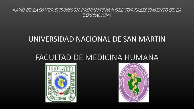 «AÑO DE LA DIVERSIFICACIÓN PRODUCTIVA Y DEL FORTALECIMIENTO DE LA EDUCACIÓN» UNIVERSIDAD NACIONAL DE SAN MARTIN FACULTAD D...