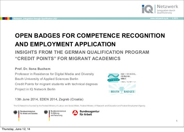 Open Badges for Employment