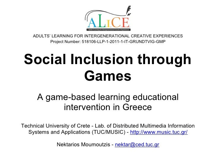 ADULTS' LEARNING FOR INTERGENERATIONAL CREATIVE EXPERIENCES            Project Number: 518106-LLP-1-2011-1-IT-GRUNDTVIG-GM...