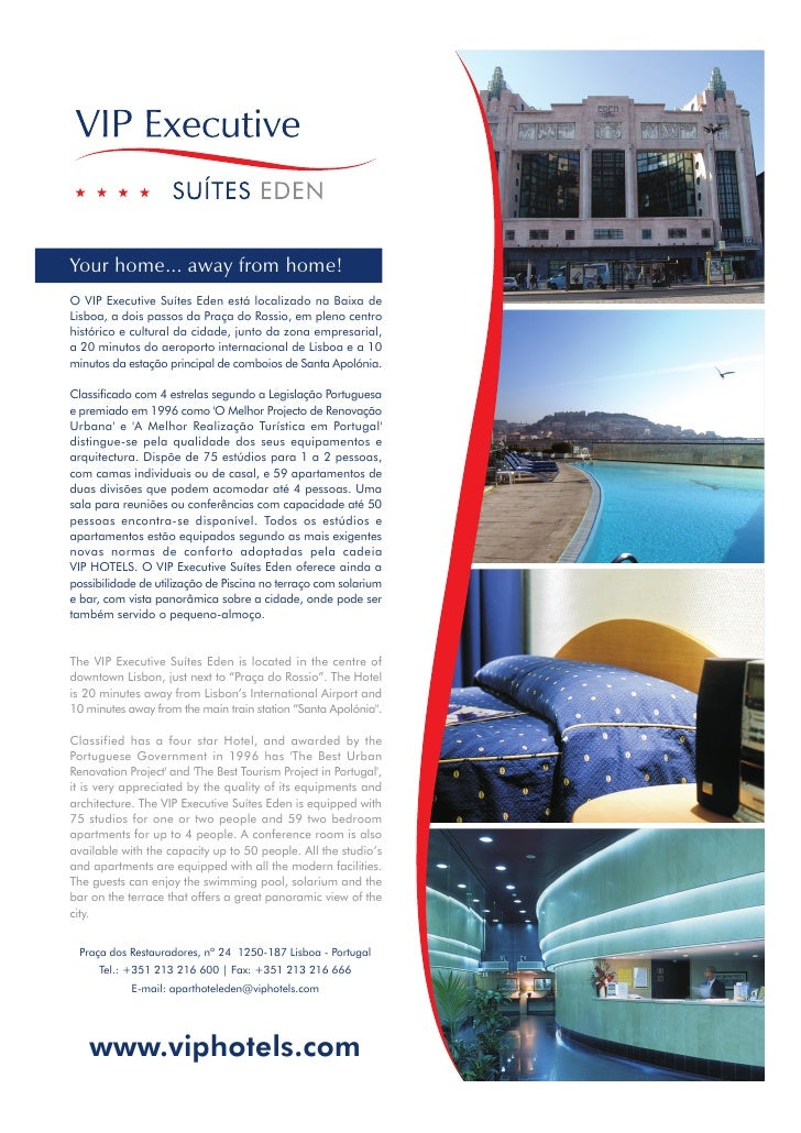 VIP Eden Aparthotel Fact Sheet