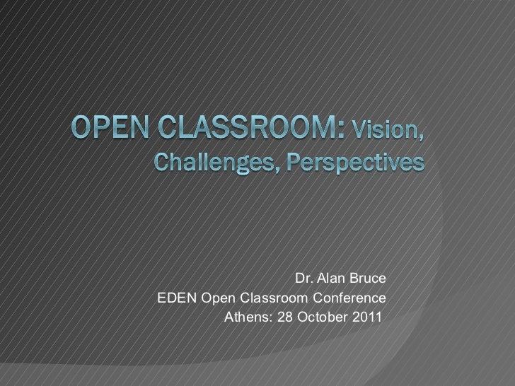 OCC2011 Keynotes: Alan Bruce