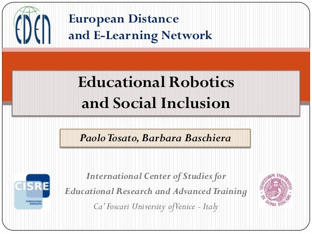 Educational Robotics and Social Inclusion