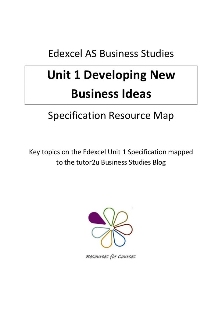 edexcel business studies unit 3 jan Hi anyone here know where i can get some good online revision notes for this exam cheers.