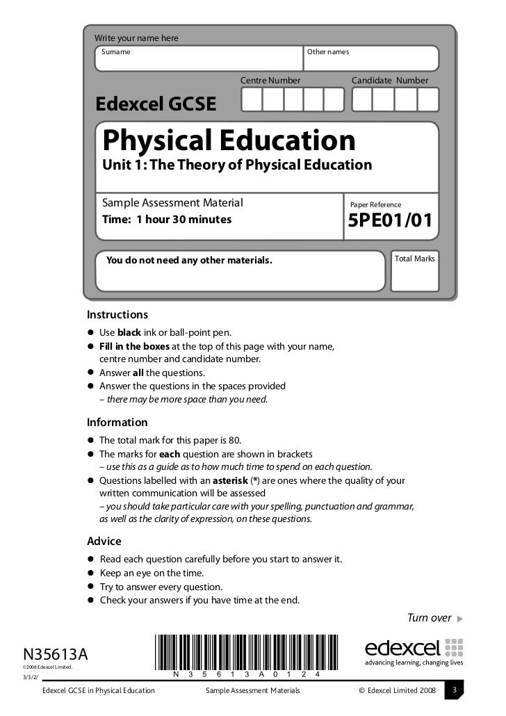 a2 physical education coursework 1 sports studies as level and a level sport and physical education   coursework, homework, practical performances and additional reading in their  own time.