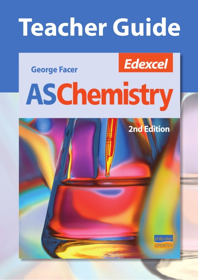 Edexcel as chemistry tag 2nd ed (Book answers and teachers guide)
