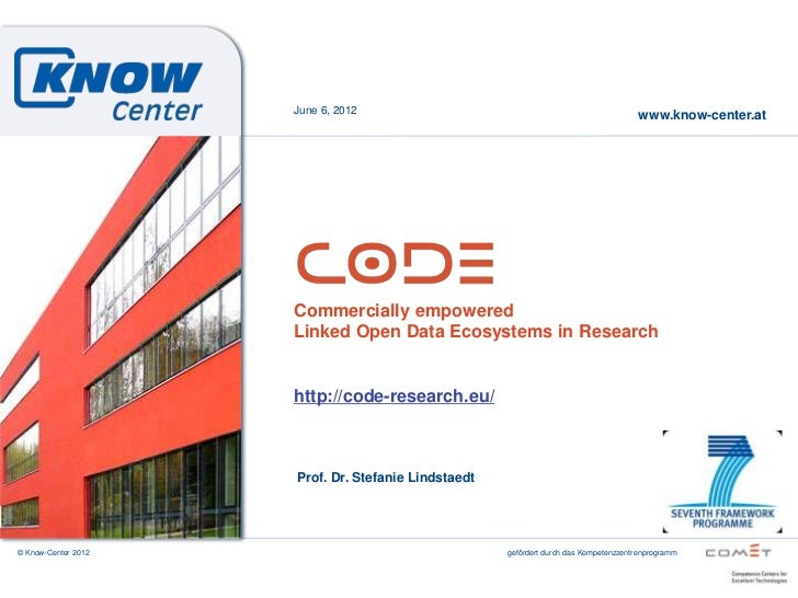June 6, 2012                                                                                      www.know-center.at      ...