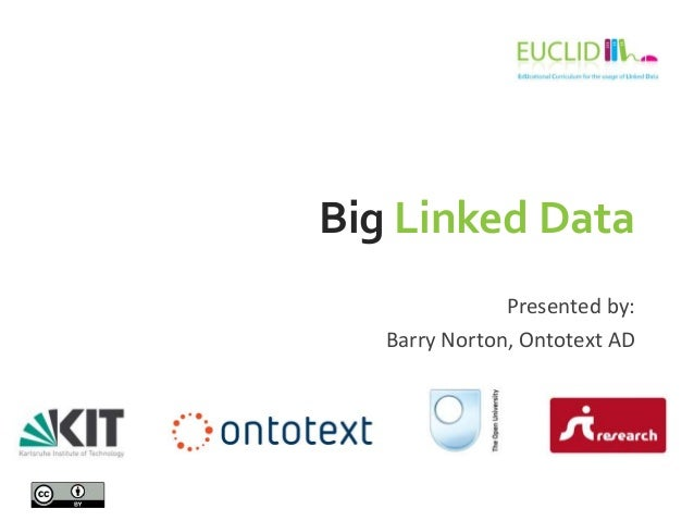 EDF2013: Data Science Curriculum: Barry Norton: Big Linked Data