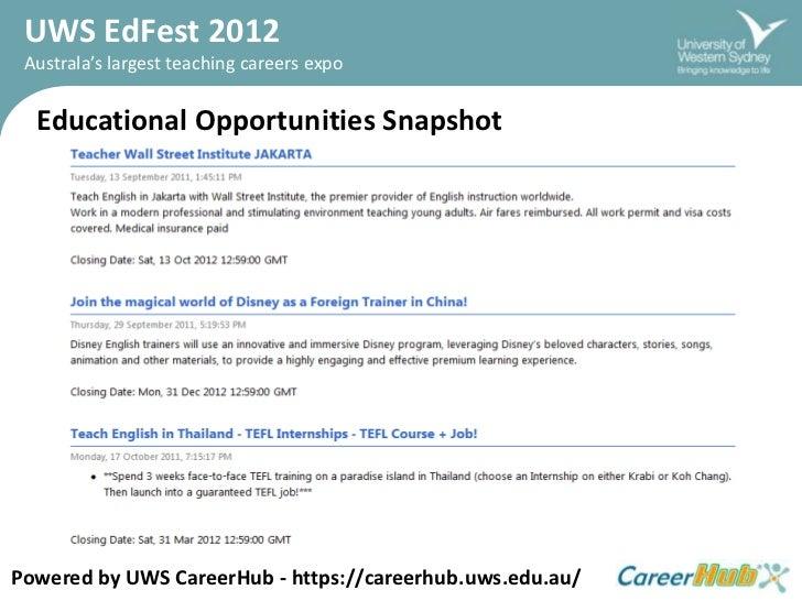Ed fest2012   job listing