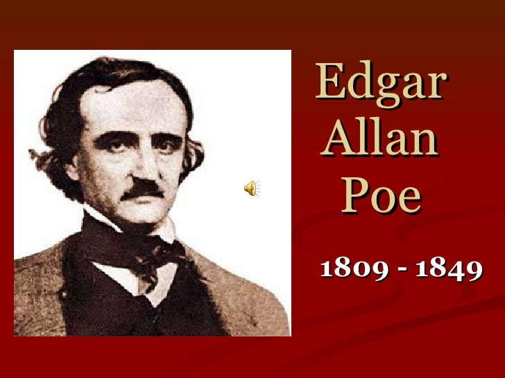 Essay On Edgar Allan Poe