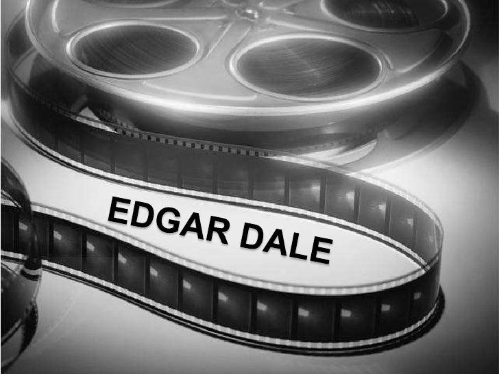 Edgar Dale <br />