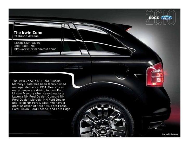 2010 Ford Edge Laconia