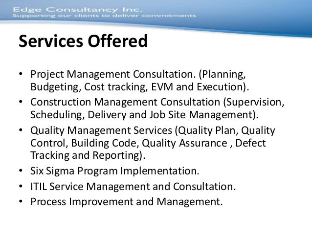 Business plan for construction