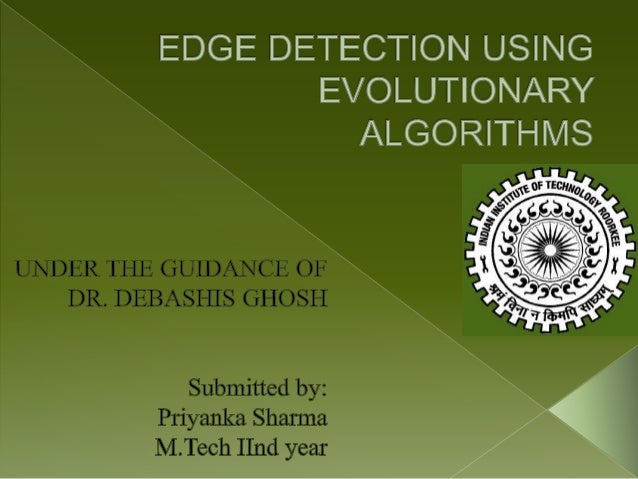 Edge detection using evolutionary algorithms new