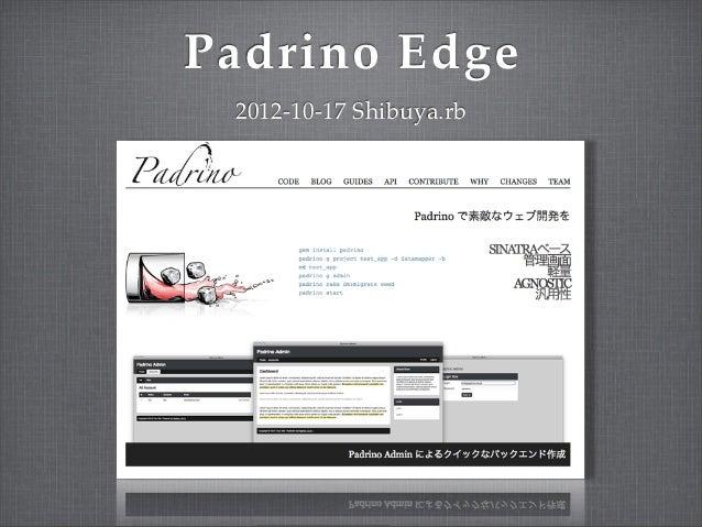 Padrino Edge