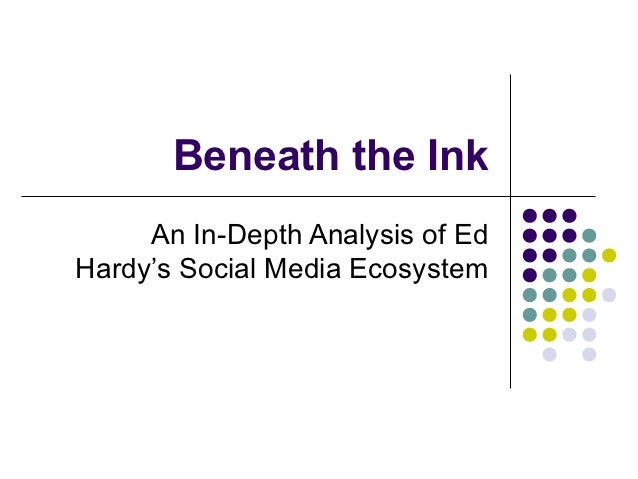Beneath the Ink: An In-Depth Analysis of Ed Hardy's Social Media Ecosystem