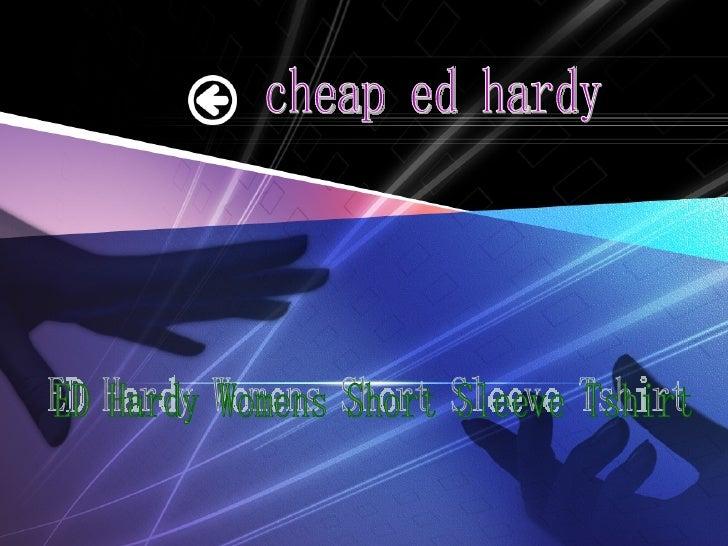 Ed hardy womens short sleeve tshirt1