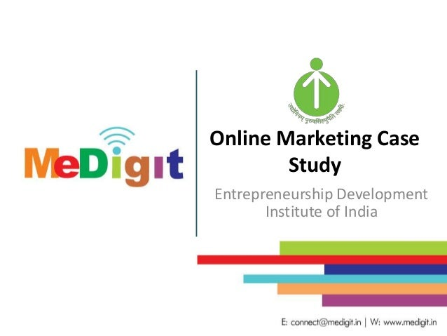 case study on entrepreneurship development in india