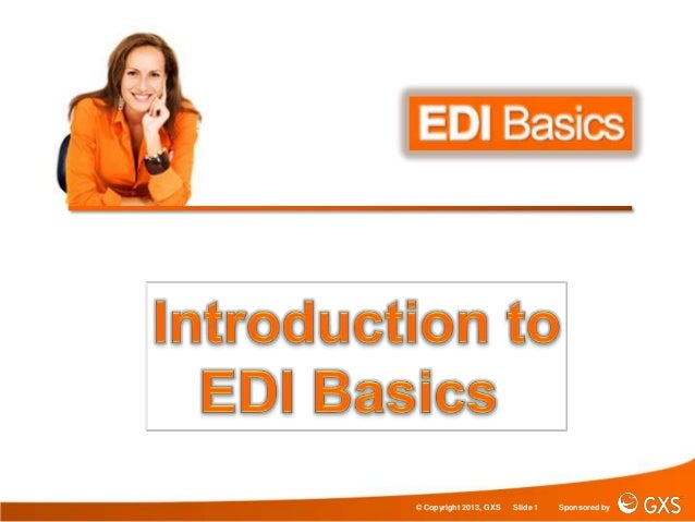 Introduction to EDI Basics