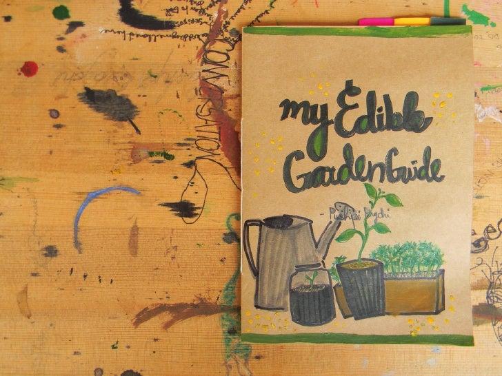 Edible garden guide pushpi bagchi