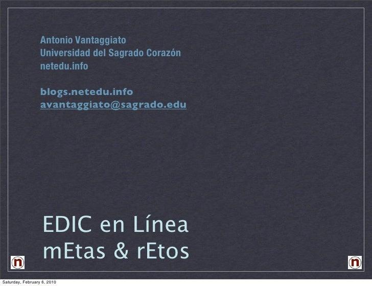 Edic en Linea