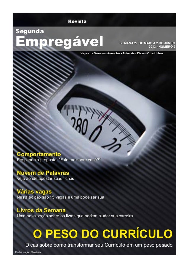 RevistaVagas da Semana - Anúncios - Tutoriais - Dicas - QuadrinhosSSEEMMAANNAA 2277 DDEE MMAAIIOO AA 22 DDEE JJUUNNHHOO220...