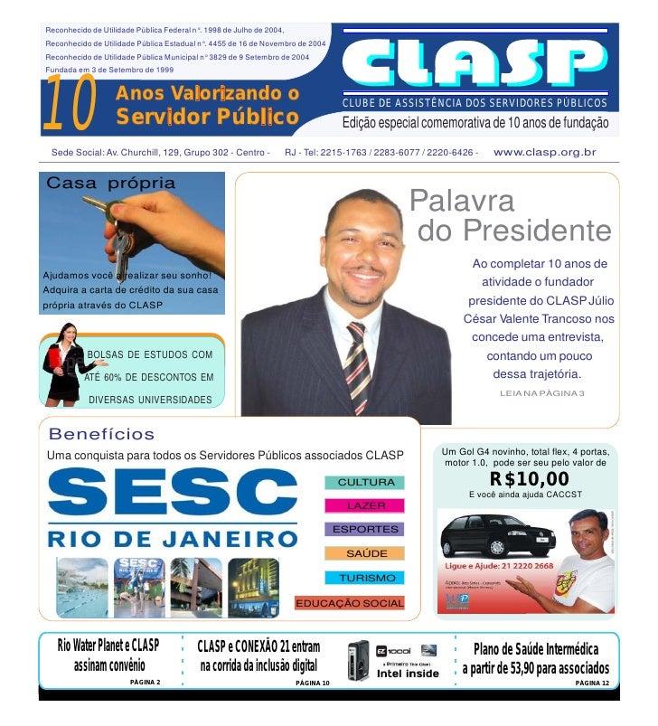 CLASP 10 Anos -  Edição 2010