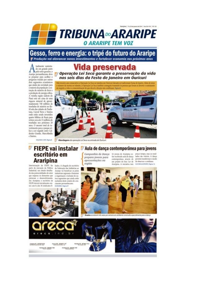 Edição 83 do Jornal Tribuna do Araripe