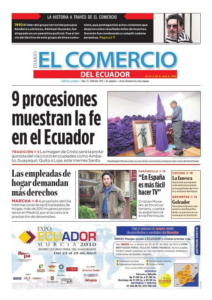 www.elcomercio.com/espana                                                  Semana del jueves 1 al jueves 8 de abril de 201...