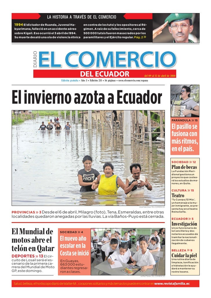 EDICIÓN 211 El Comercio del Ecuador