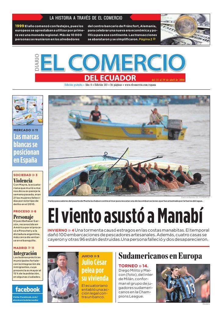 EDICIÓN 213 El Comercio del Ecuador