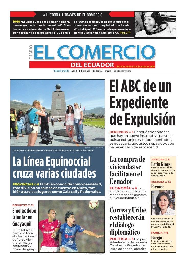 EDICIÓN 205 El Comercio del Ecuador