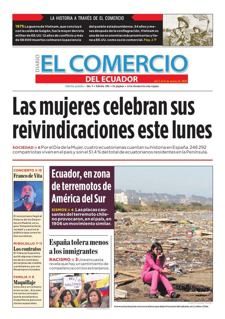 www.elcomercio.com/espana                                                   Semana del viernes 05 al jueves 11 de marzo de...