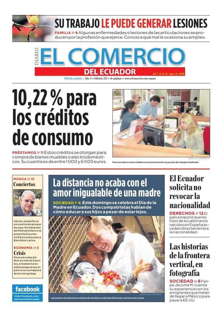 www.elcomercio.com/espana                                                          Semana del viernes 7 al jueves 13 de ma...