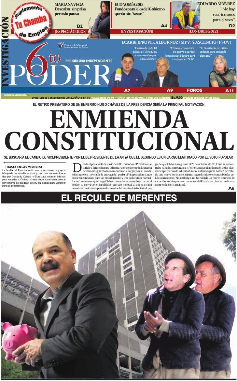 Semanario 6to Poder 29JULIO2012 Edicion 95