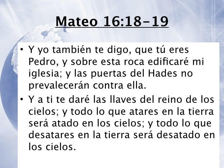 Resultado de imagen para mateo 16:18