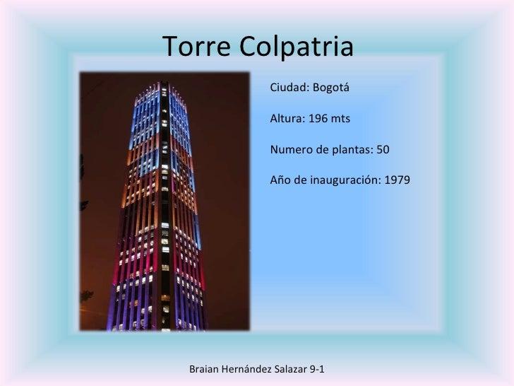 Edificios mas altos de colombia
