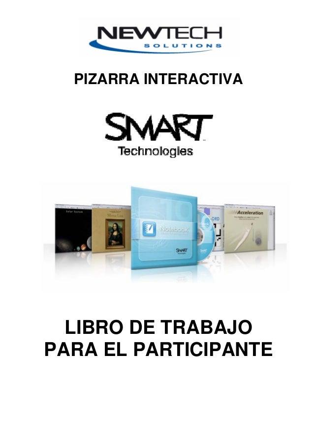 PIZARRA INTERACTIVA LIBRO DE TRABAJO PARA EL PARTICIPANTE