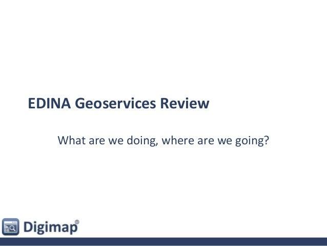 Edina Geoservices Review - Emma Diffley