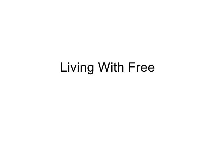 Filmmakers making a living with Free