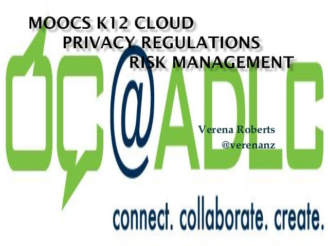 MOOCs k12 privacy and risk