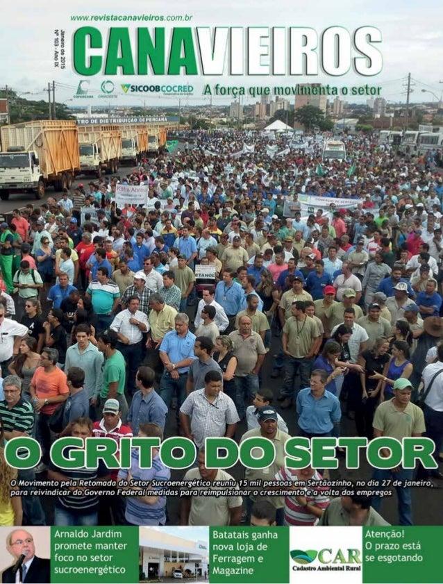 Revista Canavieiros - Janeiro de 2015 1