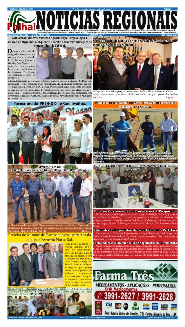 Folha Noticias Regionais | Edicao 103