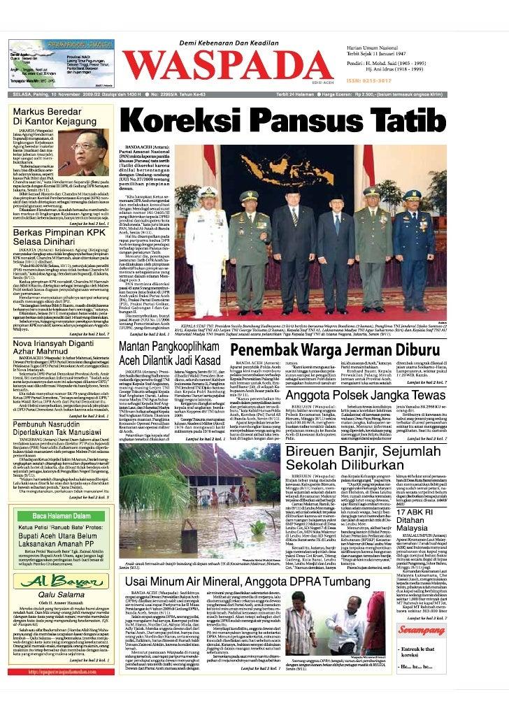 Edisi 10 Nov Aceh