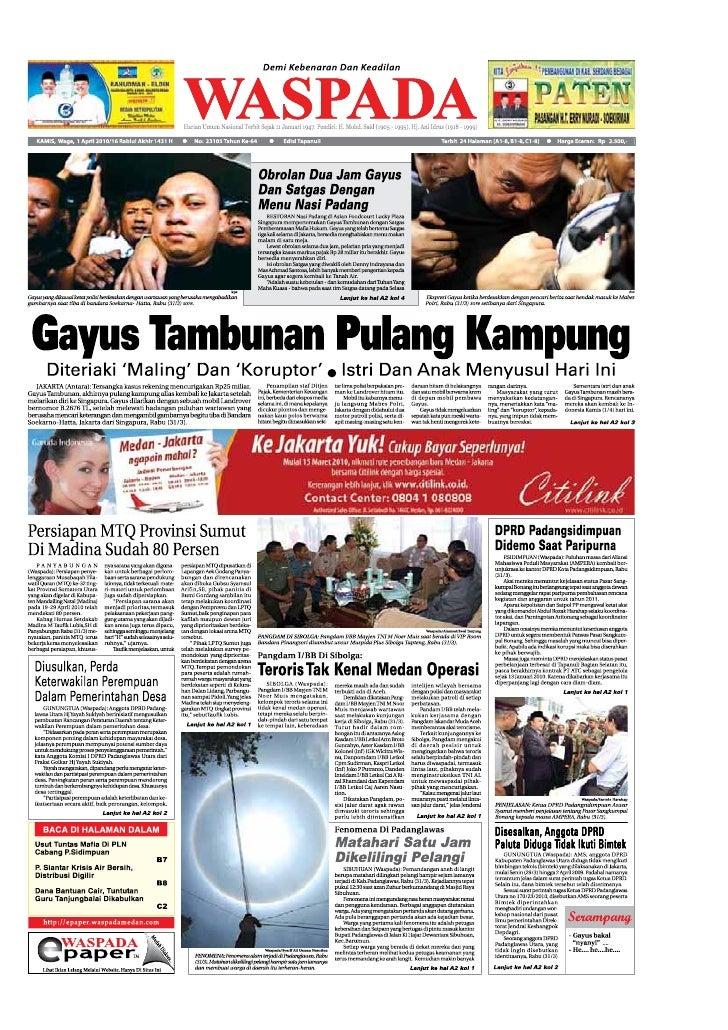 Edisi 1 April 2010 Nusantara