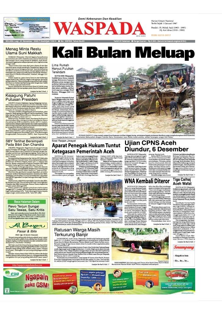 Edisi 24 Nov Aceh