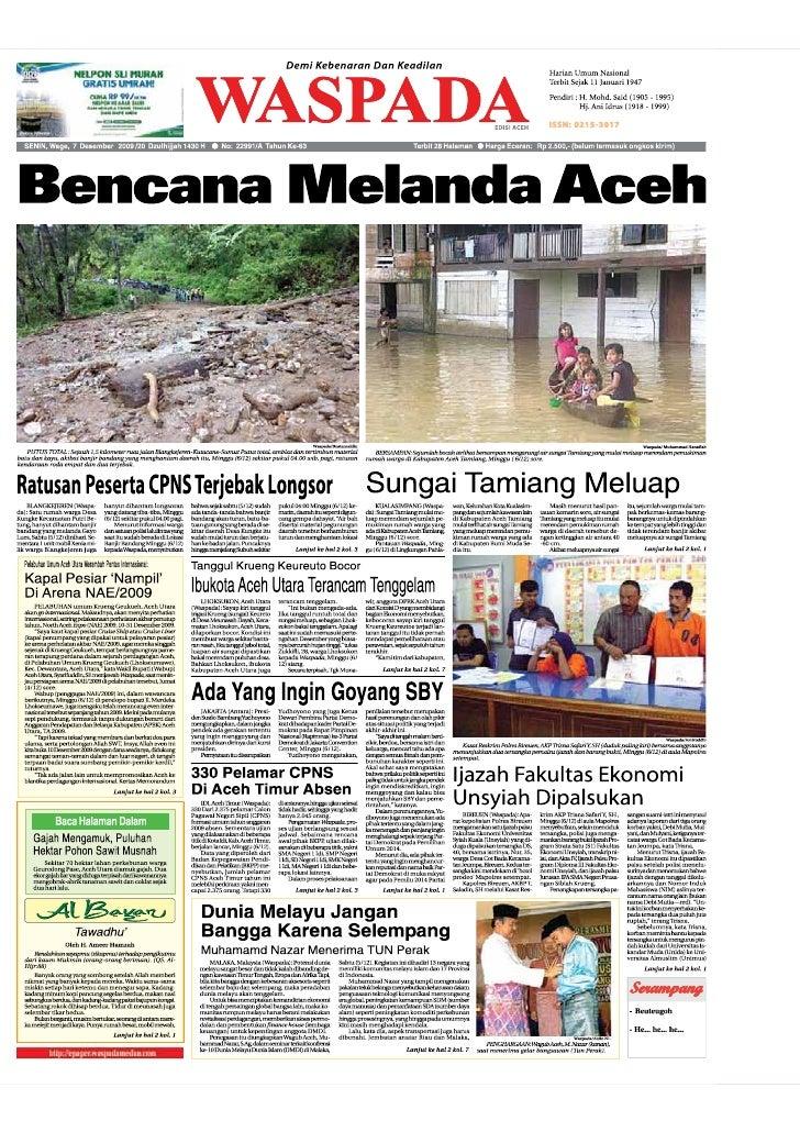 Edisi 7 Dec Aceh