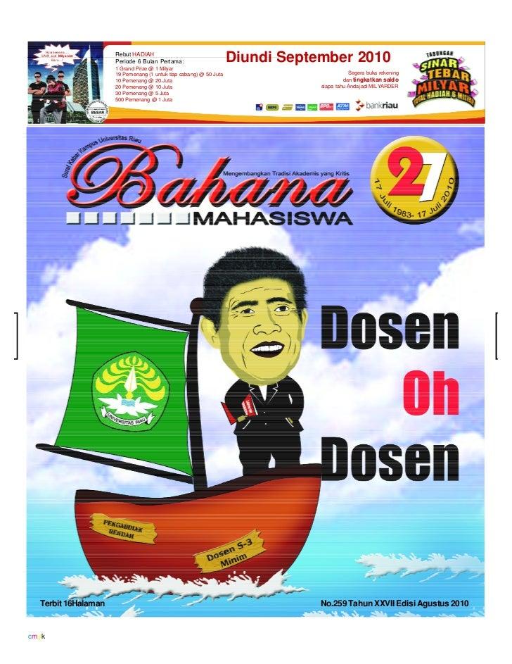 Bahana edisi Agustus 2010