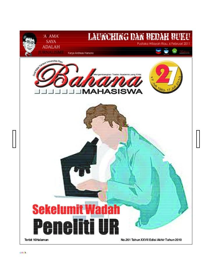 Bahana edisi Desember 2010