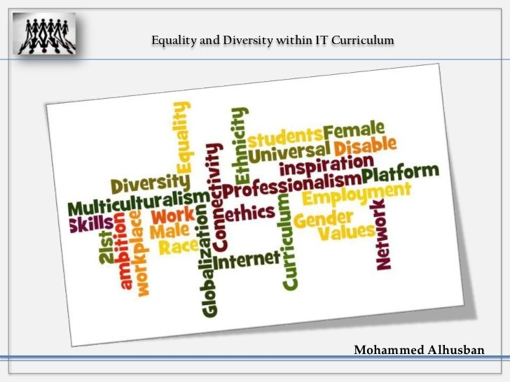 Equality and Diversity within IT Curriculum
