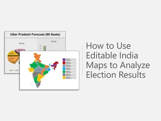 How to Use India Map in Presentation - Editable PowerPoint Slides
